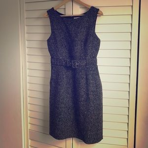 Banana Republic Tweed Belted Dress
